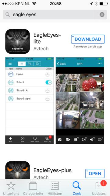 Webcam app med tävlingsmöten