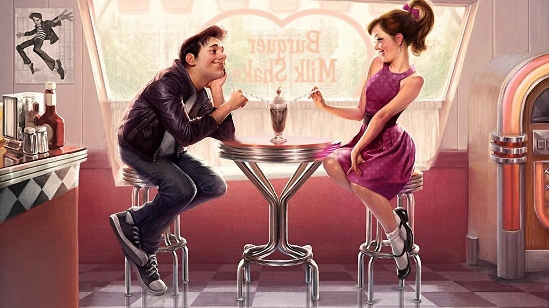Hur mannen flirta med unga mysteriy